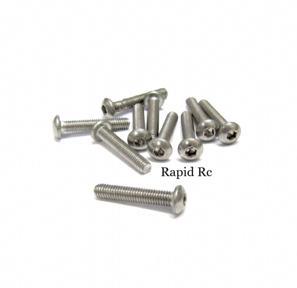 stainless Steel socket Button head Bolt A2 M3x16mm